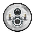 Chrome 7 in. LED Headlight Kit - HW195001