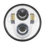 Chrome 5.75 in. LED Headlight - HW195003