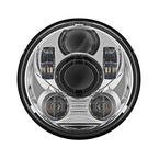 Chrome 5.75 in. V2 LED Headlight - HW195024