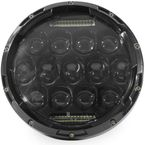 Black 7 in. Beast LED Headlight - ABIG7-B6K