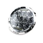 Chrome 7 in. Beast LED Headlight - ABIG7-B6KC
