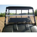 Two Sided Hard Coated Polycarbonate Versa Flip Windshield - 25008