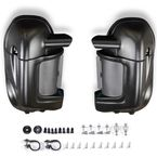 Denim Black Lower Vented Fairings w/Hardware Kit - HW105007