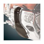 Smoke Chrome Lower Cowl Deflectors - 52-715