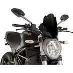 Black Naked New Generation Touring Windshield - 8900N