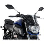 Light Smoke Naked New Generation Sport Windshield - 9666H