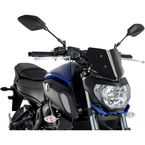 Black Naked New Generation Sport Windshield - 9666N