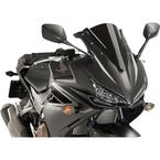Black Racing Windscreen - 8903N