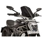 Dark Smoke Naked New Generation Touring Windscreen - 8922F