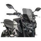 Dark Smoke Naked New Generation Touring Windscreen - 9377F