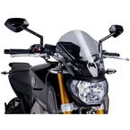 Smoke Naked New Generation Touring Windscreen - 6861H