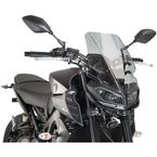 Smoke Naked New Generation Touring Windscreen - 9377H