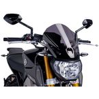Dark Smoke Naked New Generation Touring Windscreen - 6861F