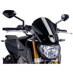 Black Naked New Generation Touring Windscreen - 6861N