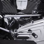 Chrome Shift Lever Linkage Cover - 72000