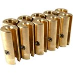 1.5 oz. Brass Spoke Wheel Weights - WT-SPK10BR-150