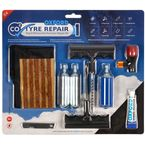 Tire Repair Kit w/CO2 Inflators - OX160