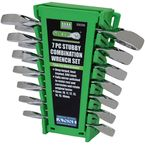 7 Piece Metric Stubby Combo Wrench Set - 89098