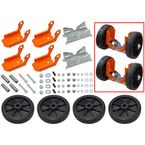 Orange Ski Wheels Dolly Set - SC-12015
