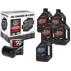 Complete Synthetic Oil Change Kit in a Box w/Black Filter - 90-119015B
