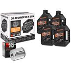 Quick Change Mineral Oil Kit in a Box w/Chrome Filter - 90-069014C