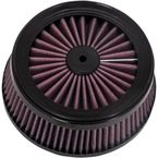 Replacement Air Filter for Rogue/Cage Fighter Air Cleaner - D140FL-R