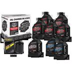 V-Twin Full Change Synthetic Oil Change Kit - 90-129018PB