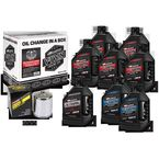 V-Twin Full Change Synthetic Oil Change Kit - 90-129018PC