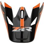 White/Black Rise Visor Kit - 0132-1088