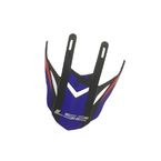 Black/Blue Visor for Fast Race Helmets - 02-929