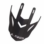 Matte Black Visor for Pioneer Helmets - 02-933