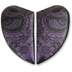 Purple Airmada Chantilly Opal Sideplates - 0133-1029