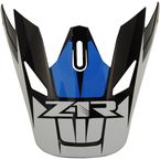 Blue Replacement Visor for Rise Ascend - 0132-1246