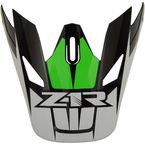 Green Replacement Visor for Rise Ascend - 0132-1248