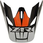 Orange Replacement Visor for Rise Ascend - 0132-1250