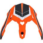 Matte Neon Orange Peak for the FX-39 Helmet - 0132-1268