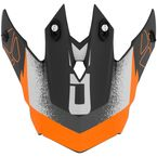 Matte Black/Orange TX228 Landslide Visor - 509830