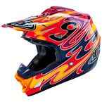 Red/Orange/Purple SE3 Reflection Helmet - 109006404
