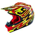 Yellow/Red/Black SE3 Reflection Helmet - 109006504