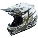 Matte White/Gray Starbreak Air Helmet - 117009102