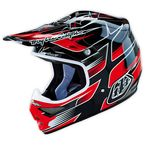 Black/Red Starbreak Air Helmet - 117009203