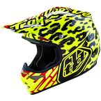 Yellow/Red/Black Skully Air Helmet - 117011504