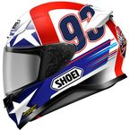 Red/White/Blue RF-1200 Marquez Indy TC-2 Helmet - 0109-2102-06