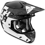 Black/White Verge Tach Helmet - 0110-4315