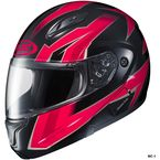 Black/Red/Gray CL-Max 2 Ridge Helmet - 59-14516
