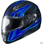 Blue/Black CL-Max 2 Ridge Helmet - 59-14526