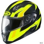 Hi-Viz Neon Green/Black CL-Max 2 Ridge Helmet - 59-14536