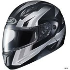 Black/Gray/White CL-Max 2 Ridge Helmet - 59-14554