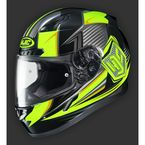 Youth Hi-Viz Yellow/Black  CL-Y MC-3H  Striker Helmet - 55-2036