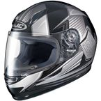 Youth Gray/Black CL-Y MC-5 Striker Helmet - 1119-3005-56